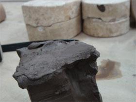 体験用粘土と型
