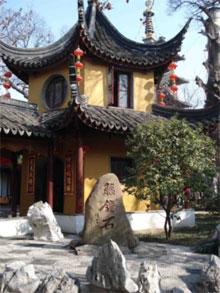 寒山寺の鐘楼